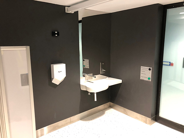 Changing Places - View of accessible sink